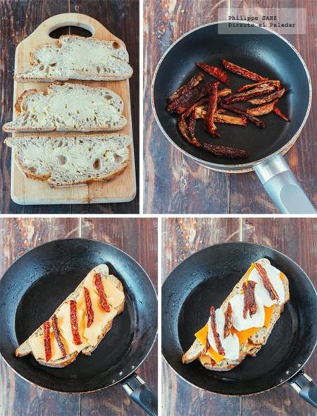 Sandwich Tres Quesos 3