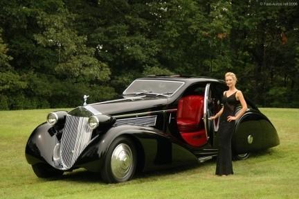Rolls Royce Phantom I Jonckheere Coupe