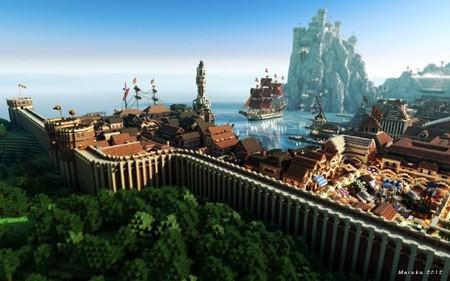 'WesterosCraft': el mundo de 'Juego de Tronos' a base de apilar bloques en 'Minecraft'