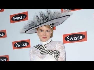 Atención, un OVNI se planta sobre la cabeza de Nicole Kidman