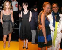 Winona Ryder, Cristina Ricci y Nicole Richie, en el desfile de Donna Karan