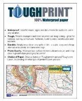 Papel para impresora a prueba de agua