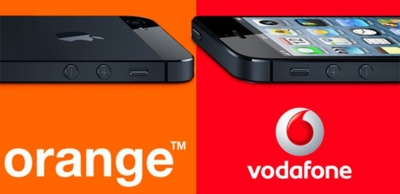 Precios del iPhone 5 con Orange y Vodafone