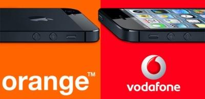 Precios del iPhone 5 con Orange y Vodafone