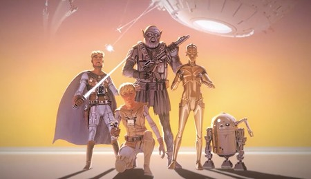 Así de diferente habría sido 'Star Wars' si se hubiese usado el arte conceptual original de Ralph McQuarrie de 1975
