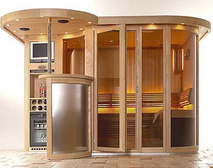 Sauna de lujo Vital Vision