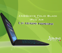Zagg Folio Keyboard para iPad Air, lo hemos probado