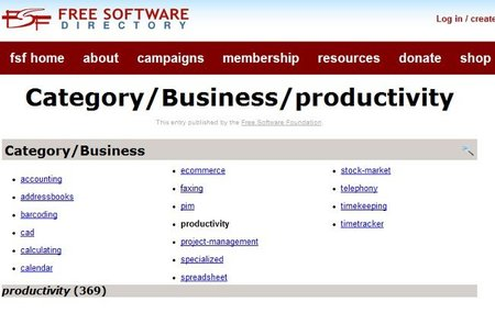 Free Software Directory, el repositorio de software libre más completo