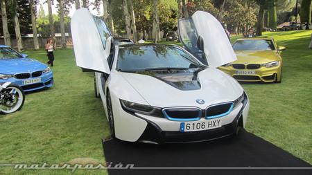 El BMW i8, nuestro coche ganador de Autobello