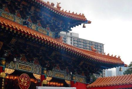 El Wong Tai Sin Temple de Hong Kong