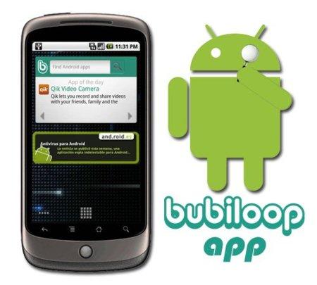Bubiloop lanza su aplicación con Widget para Android