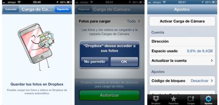 Dropbox para iOS se actualiza a la versión 1.5