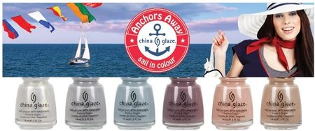 Anchors Away, más colores de China Glaze para la primavera 2011