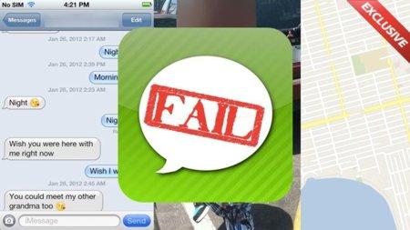 El bueno (un pobre empleado de Apple Store), el feo (iMessage) y el malo (Gizmodo)
