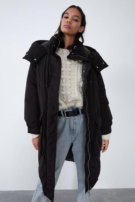 Abrigo Acolchado Sorona Zara 01