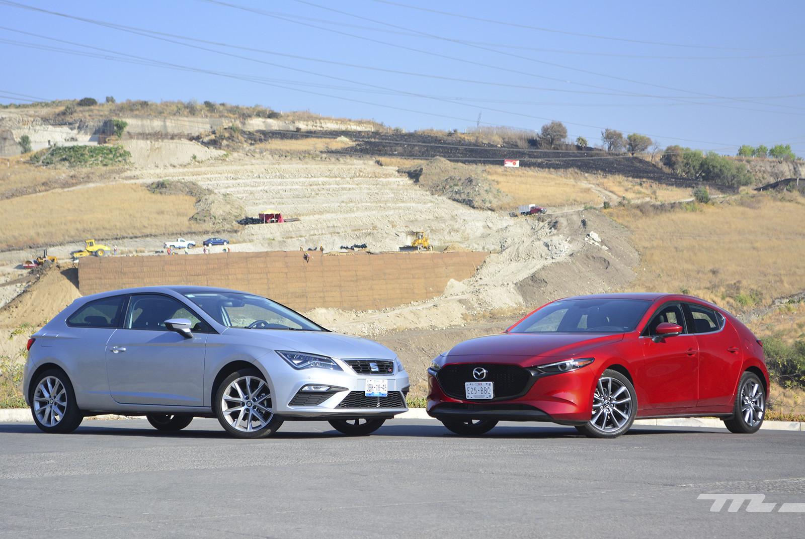 Foto de Mazda 3 vs. SEAT León (comparativa) (7/28)