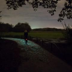 Foto 6 de 9 de la galería carril-bici-la-noche-estrellada-por-studio-roosegarde en Motorpasión