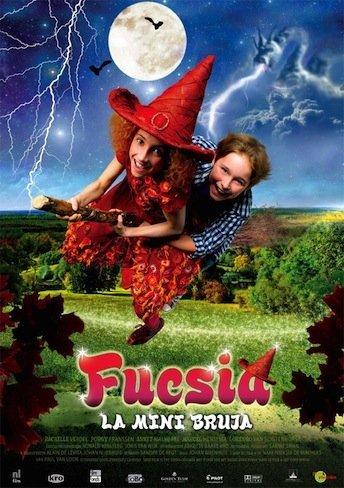 fucsia, la mini bruja