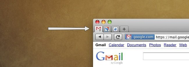 google gmail favicon icono contador mensajes