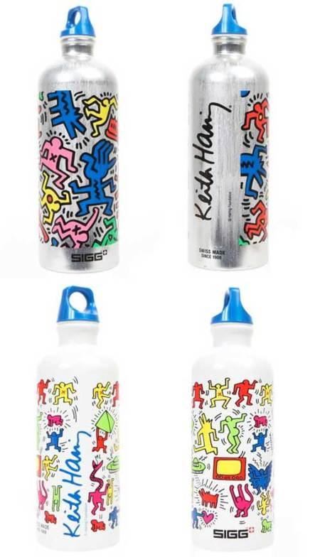 Botellas SIGG con diseños de Keith Haring
