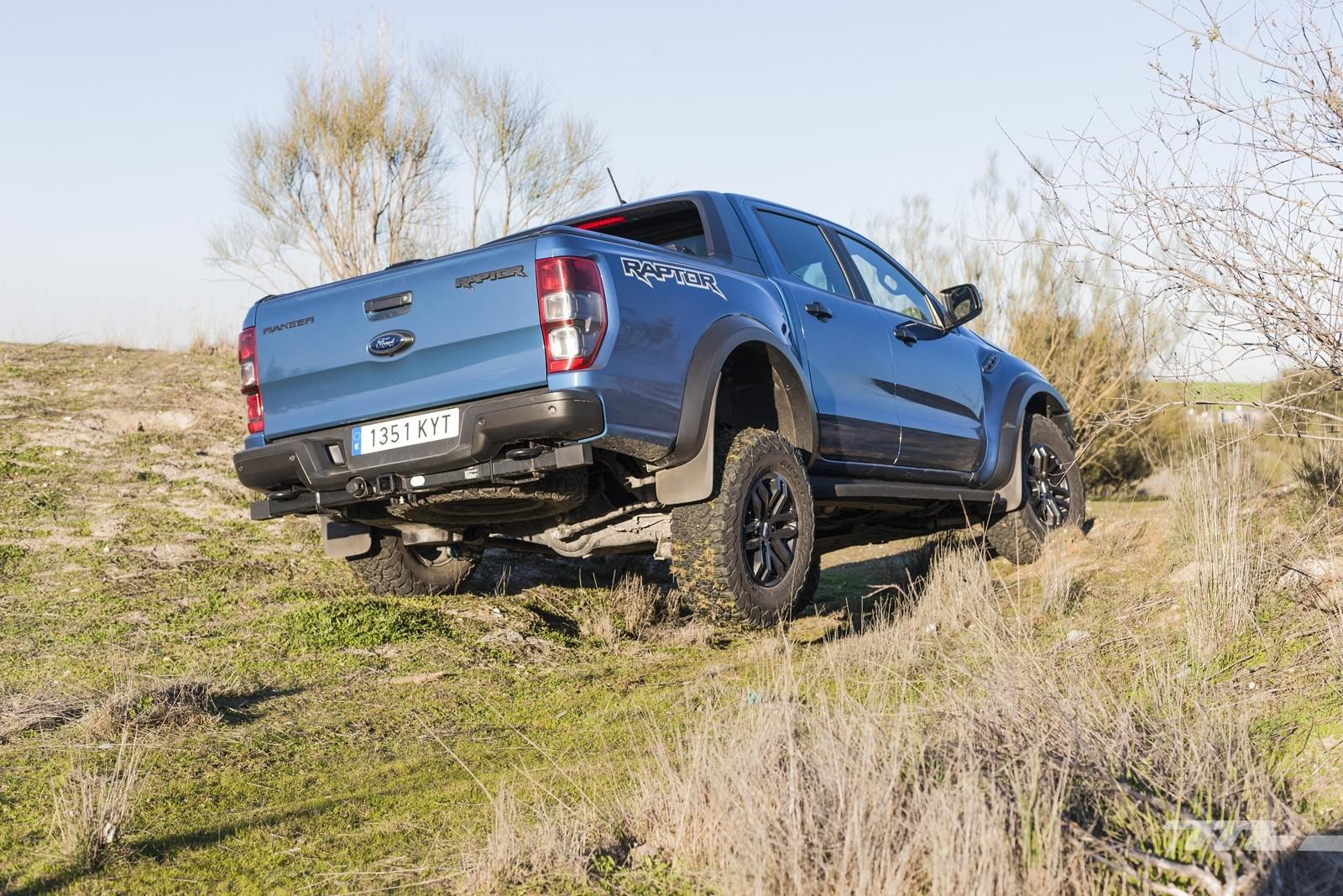Foto de Ford Ranger Raptor 2020, prueba (10/36)