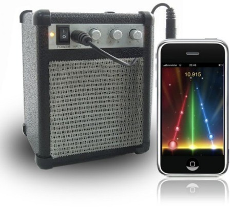 MP3 Amp, amplificador con estilo para tu iPod o iPhone