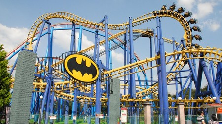 Six Flags Mexico Batman The Ride