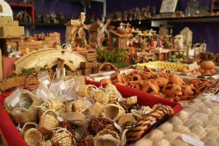 Mercado Navidad Plaza Reina