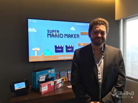 """""""México es uno de los países más importantes para Nintendo"""": Bernardo Guzman-Blanco"""