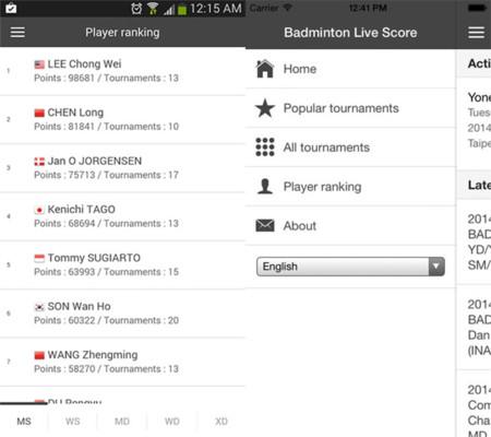 Badminton Live Scores
