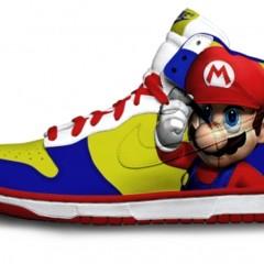 Foto 9 de 9 de la galería zapatillas-pintadas-con-personajes-de-videojuegos en Vida Extra