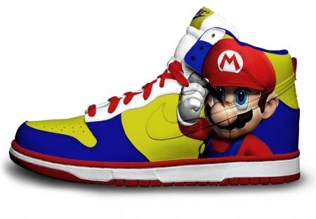 Foto de Zapatillas pintadas con personajes de videojuegos (9/9)