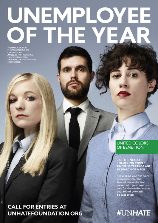 Foto de Benetton - Unemployee of the year (2/18)