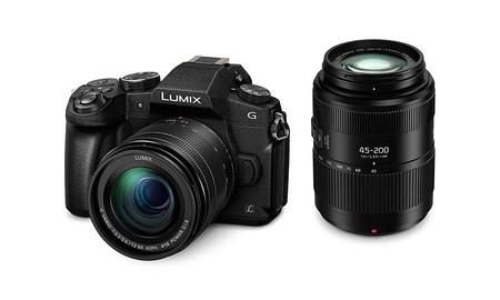 Un polivalente kit fotográfico, con la sin espejo Panasonic Lumix DMC-G80 y dos objetivos, hoy en Amazon te sale por 1.103 euros con un descuento de casi 200