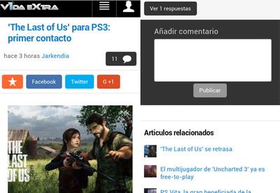 Ya puedes dejar comentarios desde la versión móvil de VidaExtra