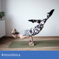 #RetoVitónica: brazos en forma en una semana con estas posturas de Yoga