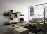 Configura tu propio mueble el almacenaje de pared con Collage de Dsignio