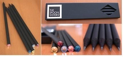 Lápices con cristales Swarovski
