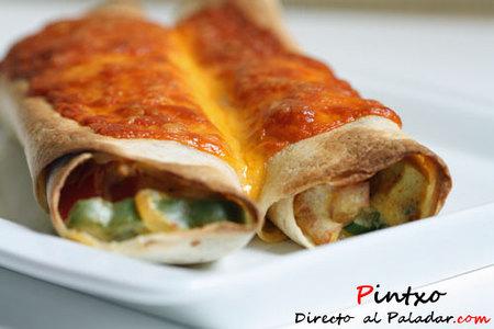 Tortillas mexicanas de tofu. Receta