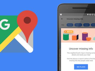 Google Maps invita a los Local Guides a añadir la información que falta