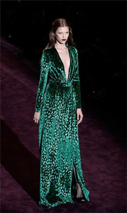 Gucci vestidos verde