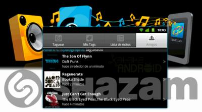 Shazam 3.0, el identificador de música de tu Android se vuelve social