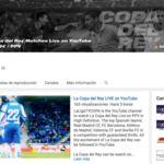 Youtube, La Liga y Mediapro llevarán la Copa del Rey a Youtube
