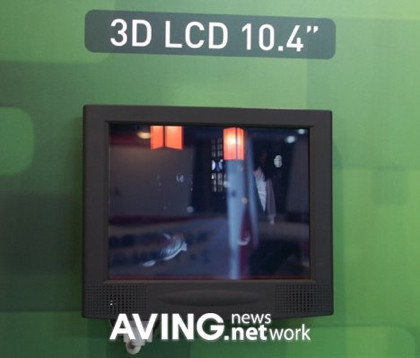 3DIS 1040S, monitor 3D