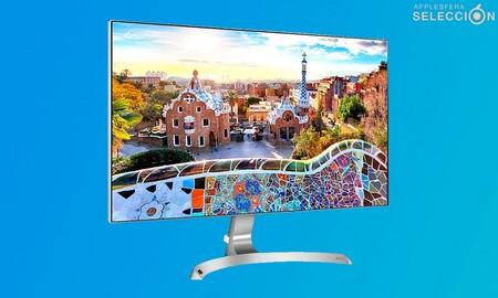 El monitor LG 27MP89HM-S tiene un diseño digno de los nuevos Mac con procesador M1 y está rebajado a 299,99 euros en Macnificos