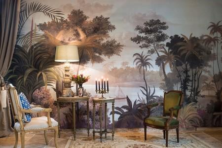 Aires tropicales inspirados en pinturas del siglo XVIII para darle un toque diferente a tu casa