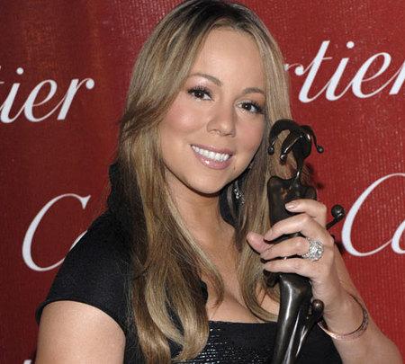 Mariah Carey recibe el premio actriz revelación borracha perdida