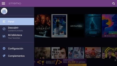 Stremio Android Tv