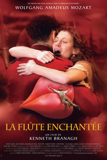 Póster y web oficial de 'La Flauta Mágica' de Kenneth Branagh