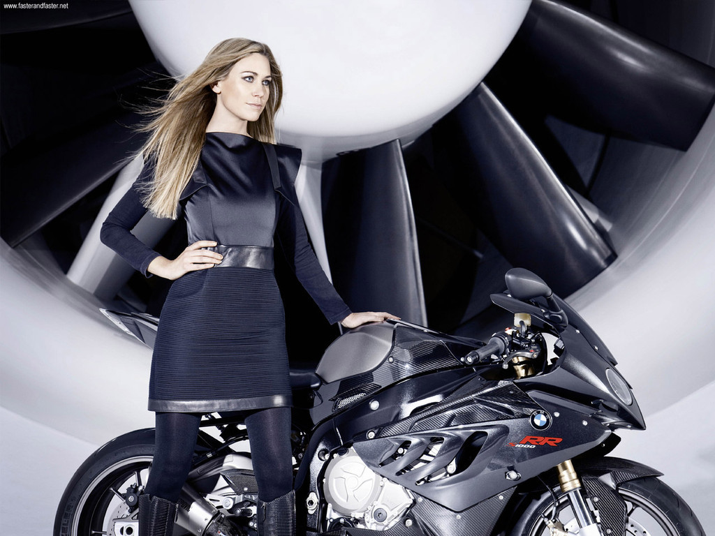 Foto de La BMW S1000RR y Leslie Porterfiel (1/8)